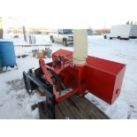 """FRONT MOUNT DUAL STAGE 78"""" SNOW BLOWER TO FIT SKID STEER"""