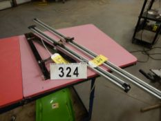 "PRECISION ANGLE GUAGE FOR TABLE SAW, 2-STRAIGHT EDGE CLAMPS FOR CIRCULAR SAW, 36"" & 52"""