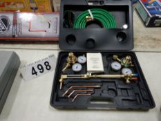 OXY/ACC CUTTING TORCH KIT, NEW IN BOX