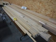 L/O OAK HARDWOOD MOULDINGS & TRIM