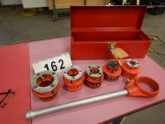 "RIDGID 12R PIPE THREADING SET, 1/2"" - 2"""