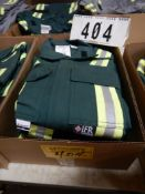3-PR IFR GREEN SAFETY COVERALS, SIZE 36