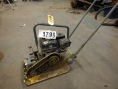 "WACKER NELSON PLATE COMPACTOR, 15""X20"" W/GAS ENGINE (NEEDS REPAIR)"