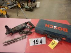 BOSCH SDS PLUS 54 BULLDOG EXTREME ROTARY HAMMER DRILL W/EXTRA MASONARY BITS, ETC