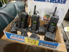 L/O 3-TAIT ORCA 2-WAY RADIOS W/ CHARGES, MULTI CHANNEL