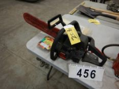 """CRAFTSMAN 40CC CHAIN SAW, UNUSED 16""""CUTTING CHAIN, STORM MASTER WET SUIT"""