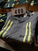3-PR IFR GREY, NAVY & GREEN SAFETY COVERALS, SIZE 40 & 40T