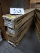 4-CASES OF 30 F032/25W/841/XP-SS-EC03 T8 MEDIUM BIPIN LED LIGHT TUBES,