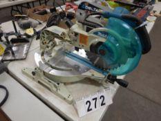 MAKITA LAZER SLIDING BEVEL/MITRE SAW