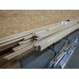 L/O OAK HARDWOOD MOULDINGS & TRIM, ROUND WOOD DOWLING, ETC