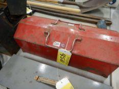 PROTO TOOL BOX W/ASSORTED TOOLS & HARDWARE