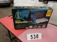 WOODS 2-BURNER PROPANE CAMP STOVE, NEW IN BOX
