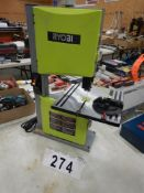 "RYOBI BS904G 9"" TABLE TOP BAND SAW, S/N EM18521D0154254"