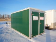7'X14' MINI ON-SITE MOBILE STORAGE UNIT S/N E7L