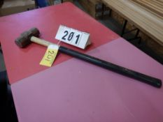 8LB LONG HANDLED MALLET