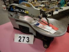 "DELTA SERIES 2000 16"" D-SCROLL SAW, MODEL 40-570, 120V, S/N 011859"