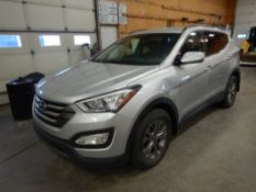 2015 HYUNDAI SANTE FE 1X35 SPORT SUV S/N 5XYZU3LBXFG269927, 43,739 KM SHOWING, ENGINE GDi 4 CYD, AT,