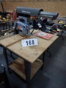 B&D 7700 RADIAL ARM SAW W/EXTRA BLADES & MANUAL