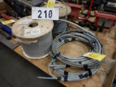 "L/O 3/8"" BEN-MOR GALVANIZED AIR CRAFT CABLE"
