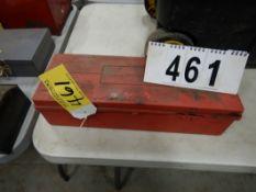 EMERGENCY WARNING ROADSIDE TRIANGLE FLARE KIT