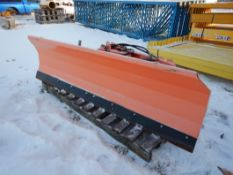 "SP20 SNOW BLADE TO FIT SKID STEER W/HYDRAULICS 87"" BLADE"