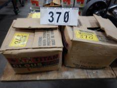 """CASE 3"""" BTE HARDOX NAILS, CASE 3.5"""" P/C BOX NAILS, (PHOSPHATE COAT)"""