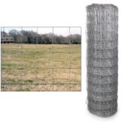 ROLL OF HOT DIPPED GALVANIZED PAGE WIRE, 330FTX50""