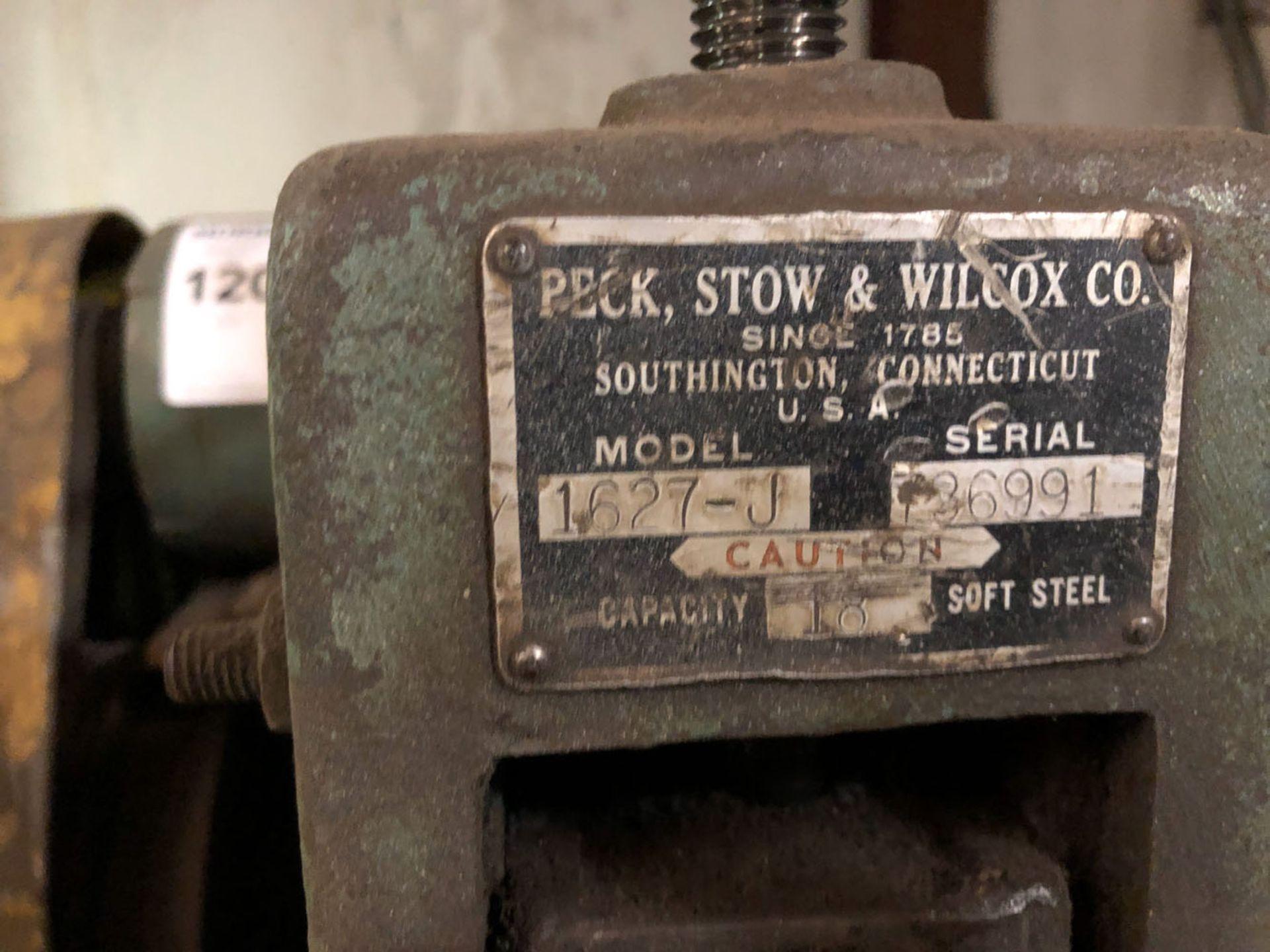 Lot 120 - Crimper, Peck Stow & Wilcox Model 1627-J Ser.No. 736991