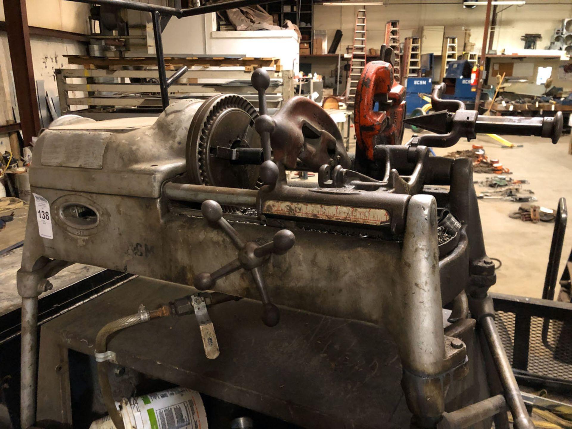 Lot 138 - Threading Machine