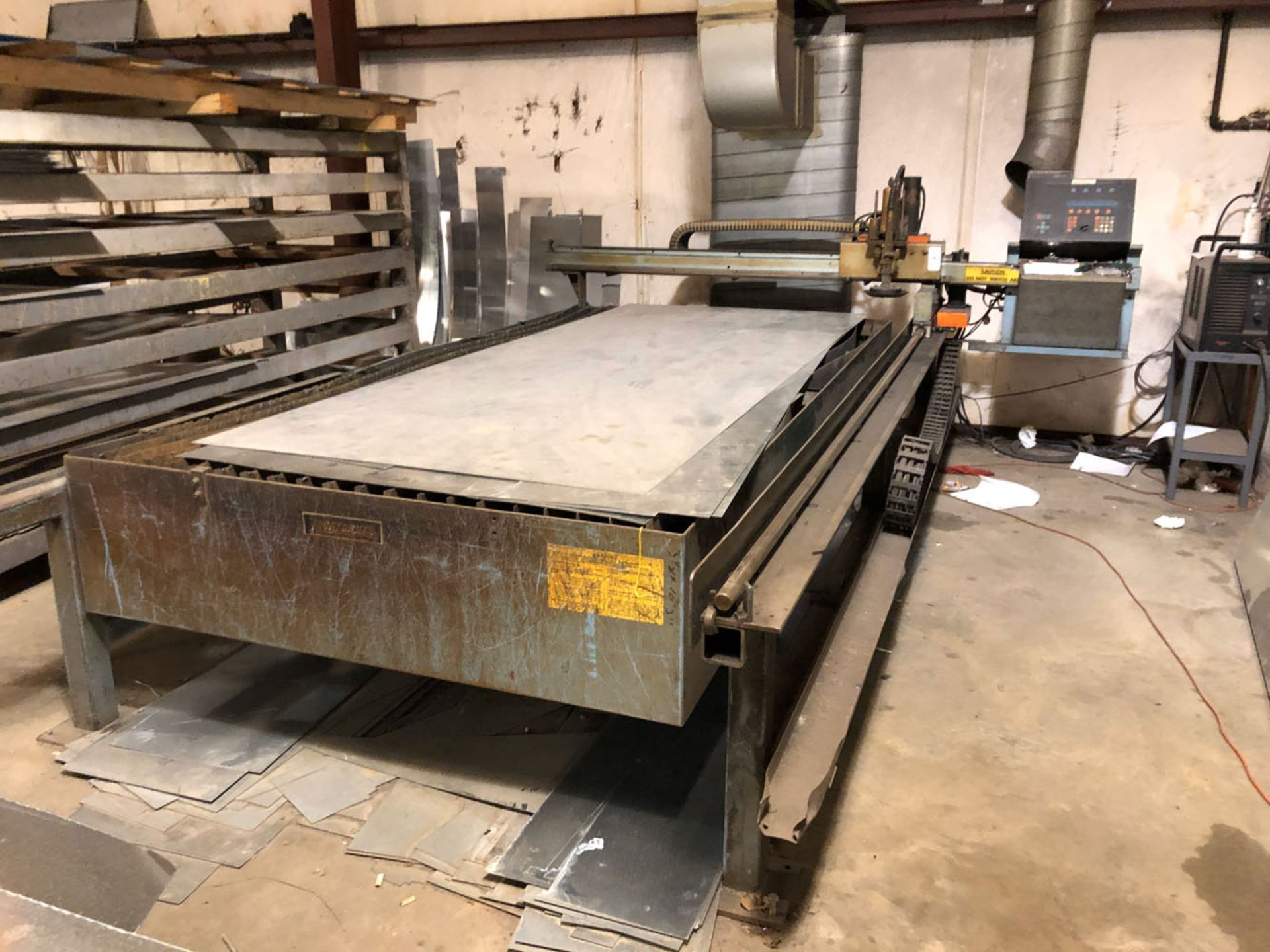 Lot 147 - CNC Plasma Cutter