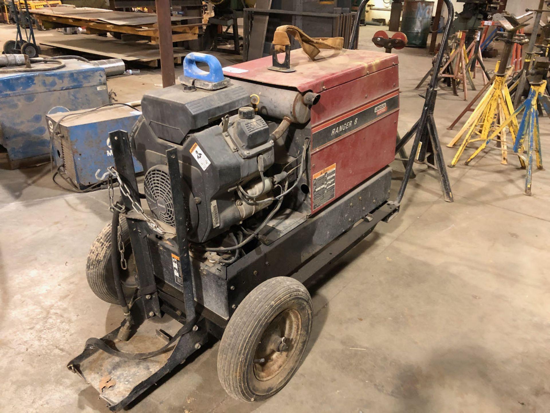 Lot 132 - Welder, Lincoln Ranger 8 Gas Powered