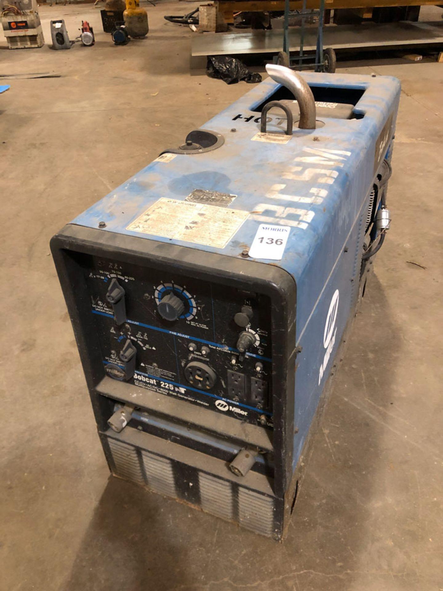 Lot 136 - Welder, Miller Bobcat Gas Powered