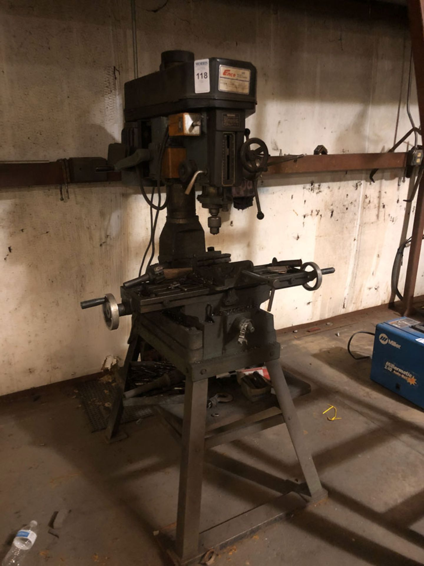 Lot 118 - Drill Press, Enco Model 105-1280 Ser.No. 893156