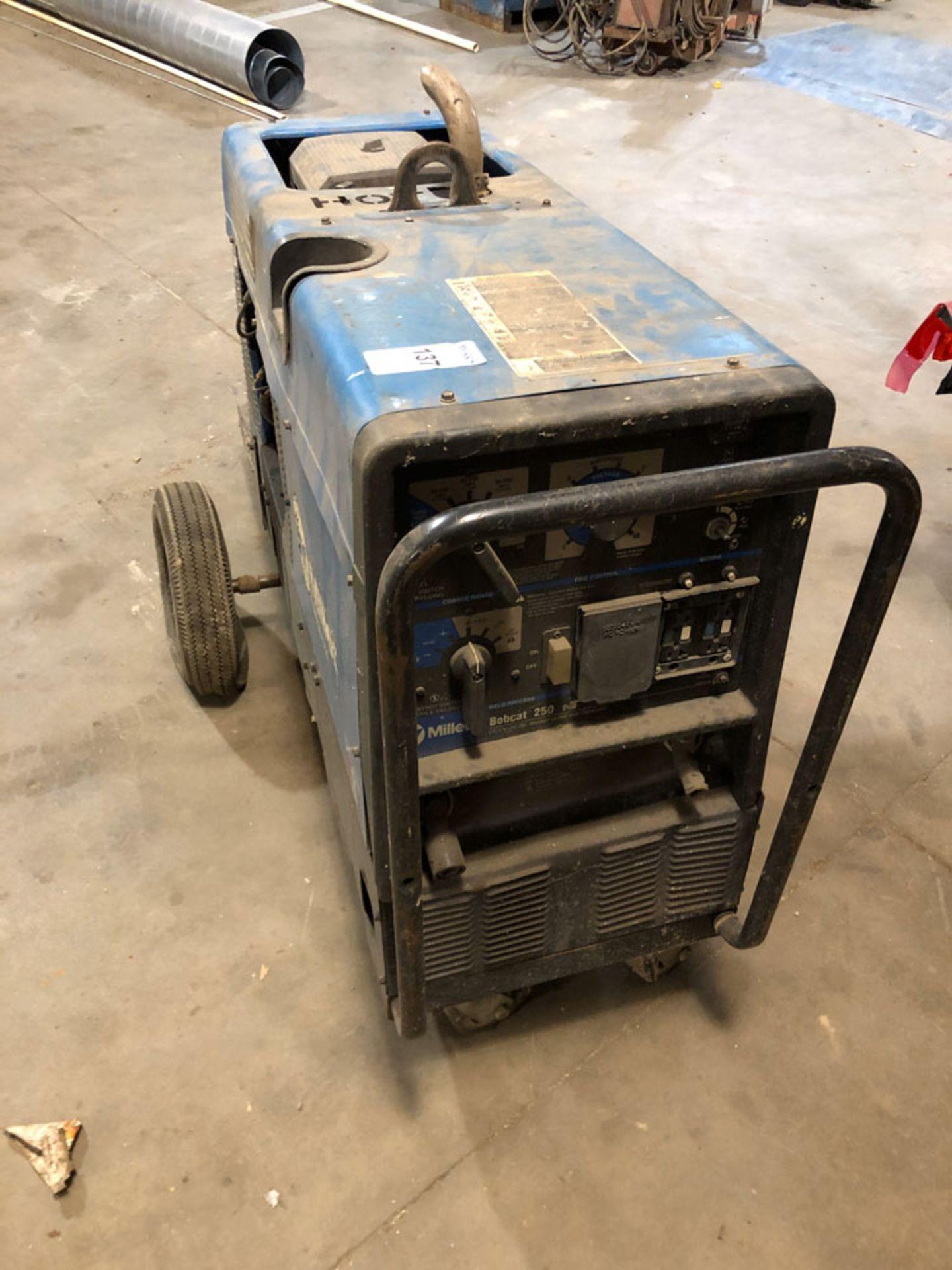 Lot 137 - Welder, Miller Bobcat 250 NT Propane Powered