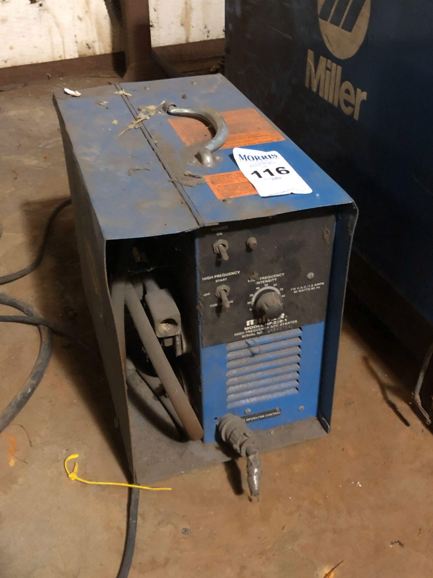 Lot 116 - Welder, Miller Model HF 250-1