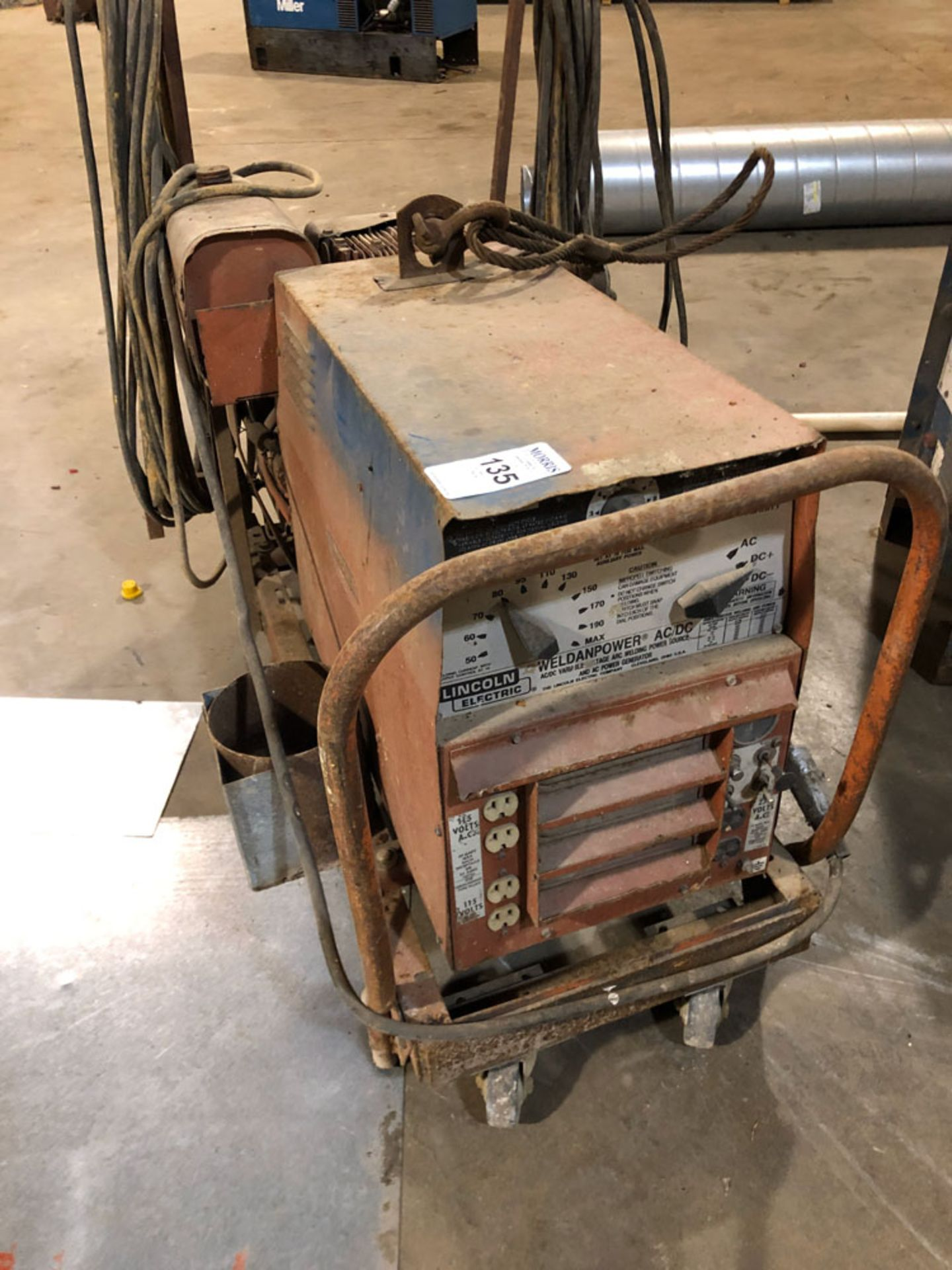 Lot 135 - Welder, Lincoln Gas Powered