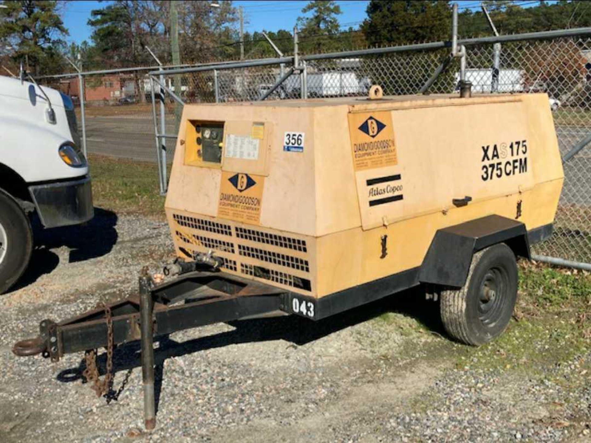 Atlas Copco XAS175 Air Compressor