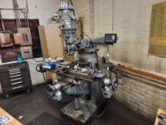 Wells Index 847 Vertical Milling Machine