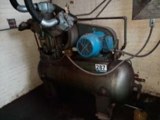Ingersoll Rand Air Compressor W/ Kellogg American Air Tank