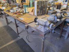 Metal Table W/ Tools