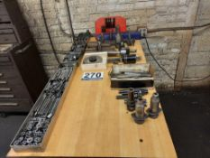 Machining Tools W/ Table