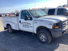 2006 FORD F250 SERVICE TRUCK