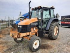 1998 NEW HOLLAND TS100 TRACTOR - ROTARY DITCHER (VDOT UNIT: R04241)