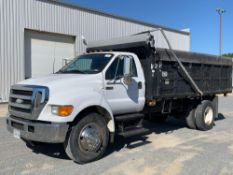 2007 FORD F750 S/A DUMP TRUCK