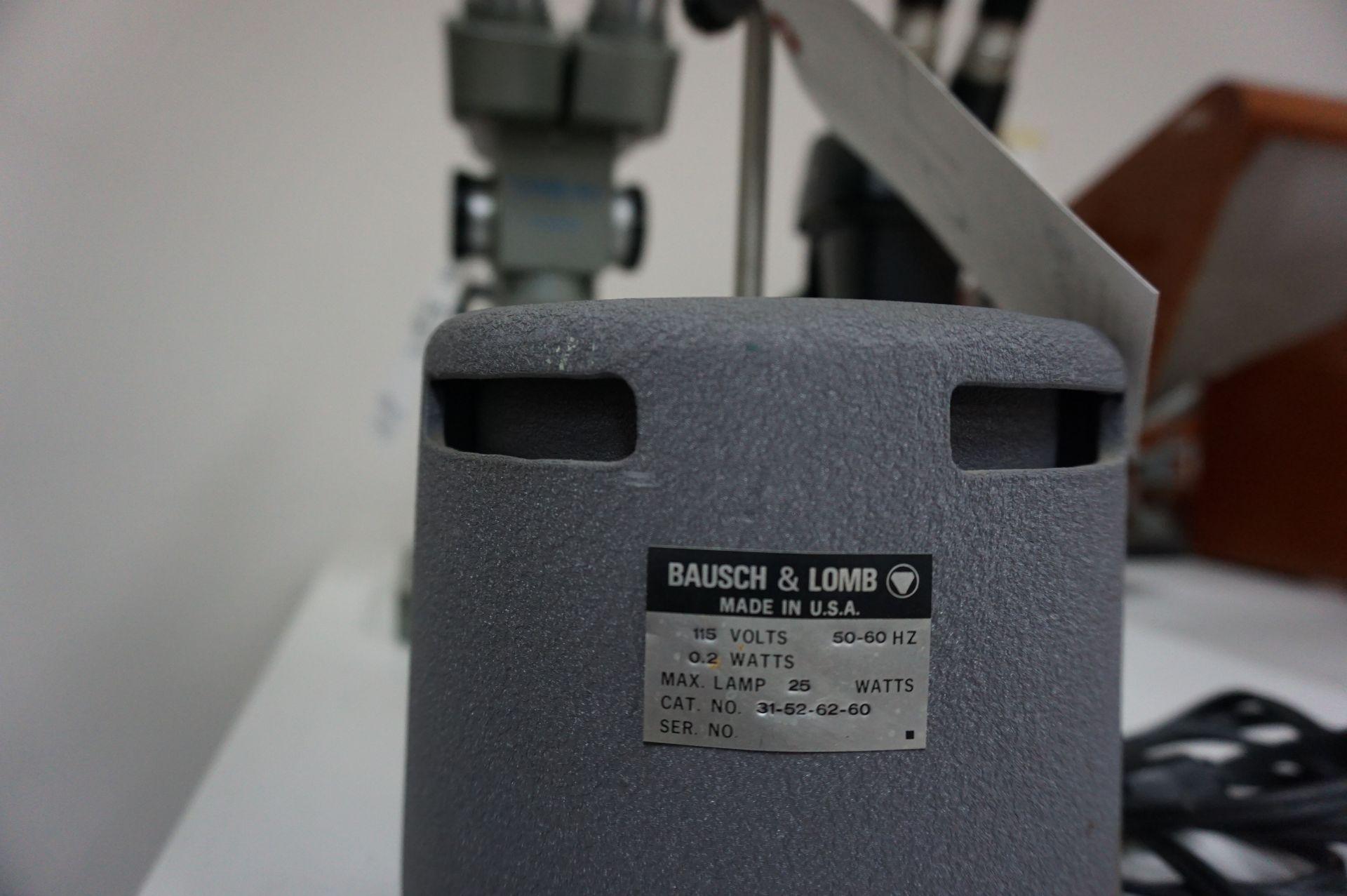 Lot 46 - BAUSCH & LOMB OPTICAL LAMP, CAT NUMBER 31-52-62-60