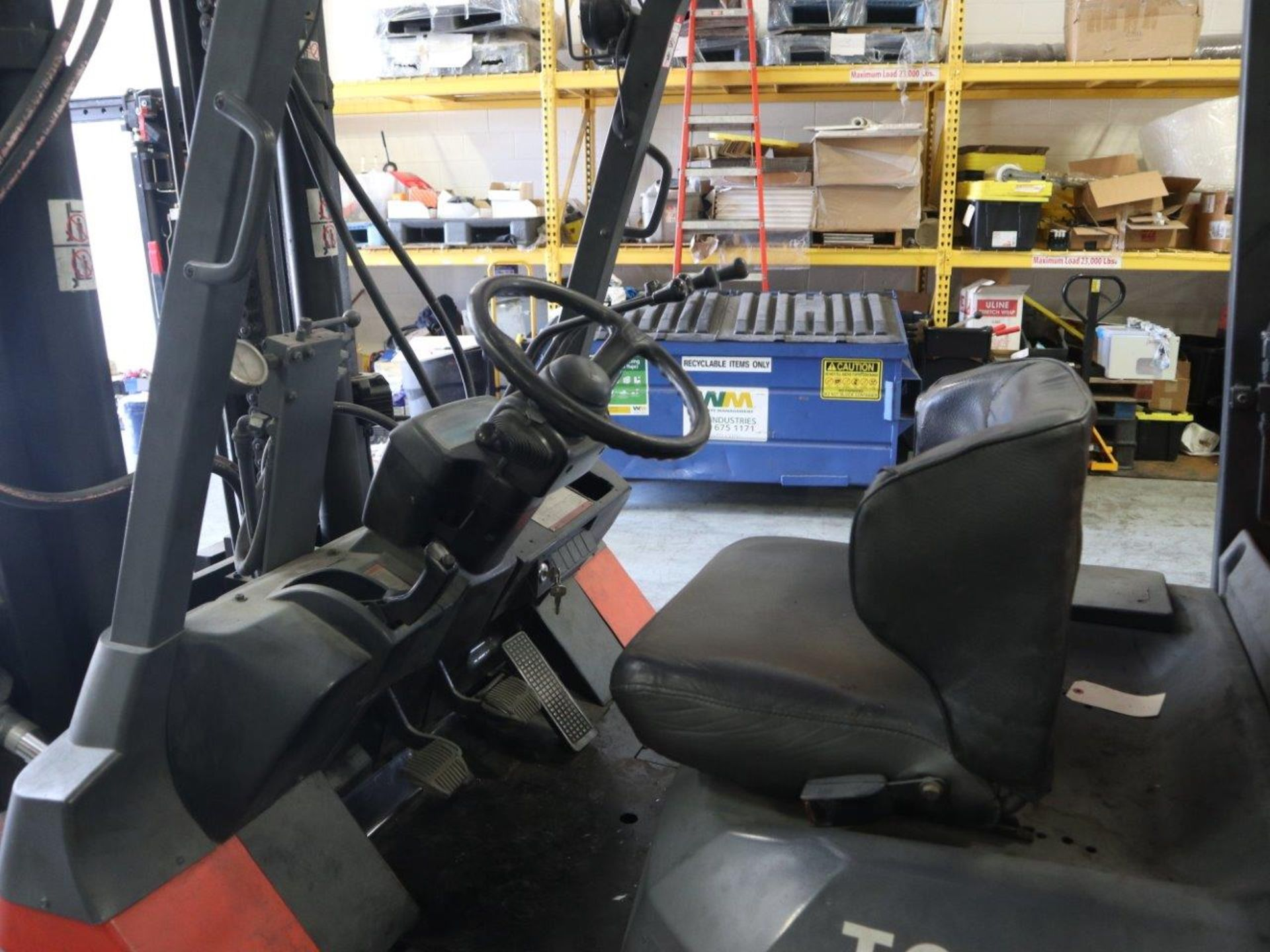 TOYOTA FORKLIFT 15,500 LBS LIFT CAPACITY 7FGCU70 - Image 8 of 8