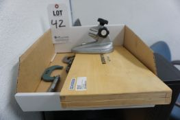 LOT TO INCLUDE: MISC. MICROMETERS AND MICROMETER VISE