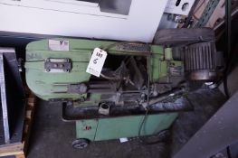 1998 CENTRAL MACHINERY HORIZONTAL METAL CUTTING BANDSAW, MODEL T-34272, S/N 774418