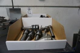 MISC. LATHE BUSHINGS AND TOOL HOLDERS