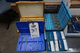 LOT TO INCLUDE: ACCUPRO TELESCOPING GAGE SET, BALL GAGE SET, GAGE BLOCK SET, MISC. PIN GAGES,